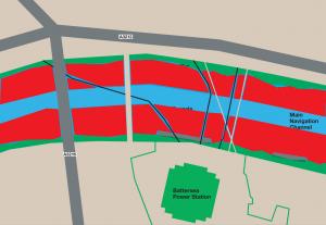 Pier Location Map