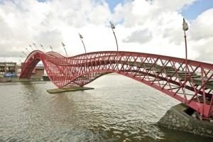 Python Bridge, Amsterdam, Netherlands
